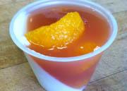 Almond Tangerine Panna Cotta